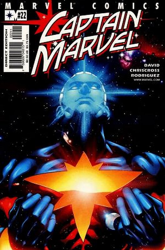 Cover of Captain Marvel (Vol 3) #22. One of 250,000 Vintage American Comics on sale from Krypton!