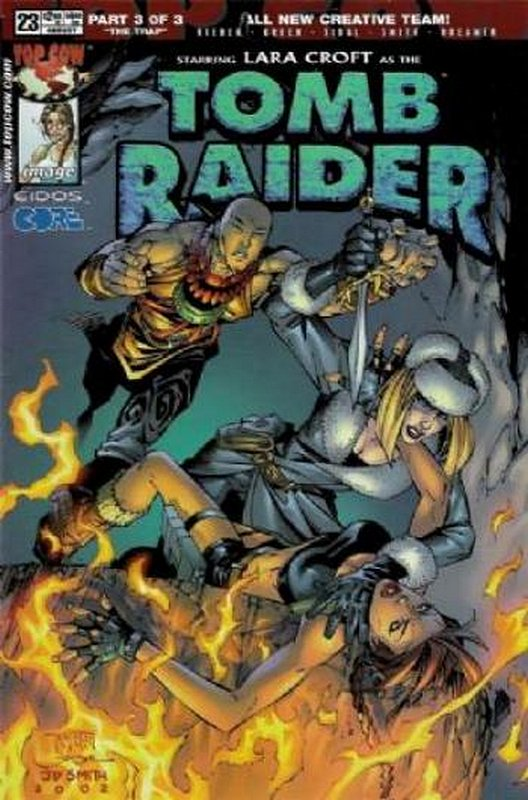 Cover of Tomb Raider (Vol 1) #23. One of 250,000 Vintage American Comics on sale from Krypton!