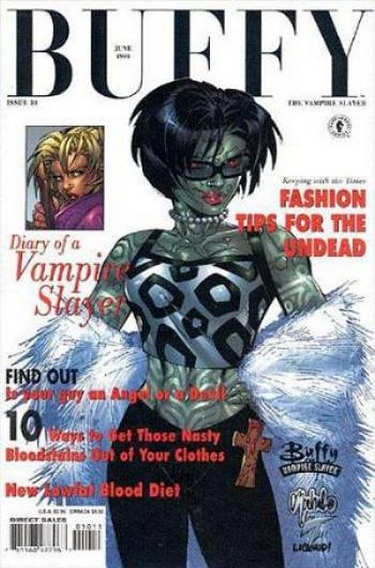 Cover of Buffy the Vampire Slayer (Vol 1) #10. One of 250,000 Vintage American Comics on sale from Krypton!
