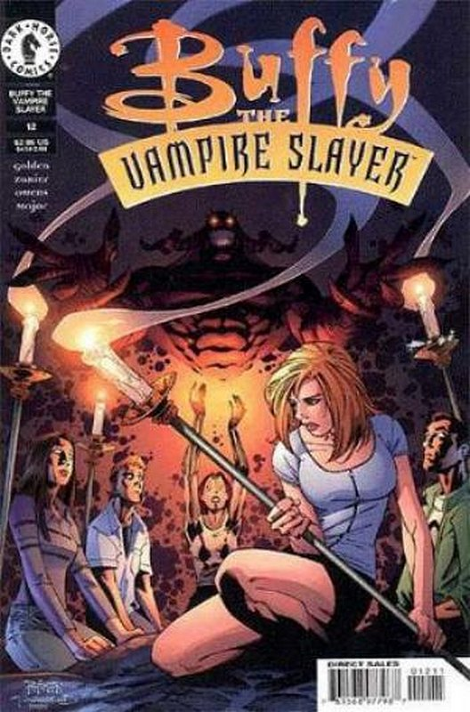 Cover of Buffy the Vampire Slayer (Vol 1) #12. One of 250,000 Vintage American Comics on sale from Krypton!