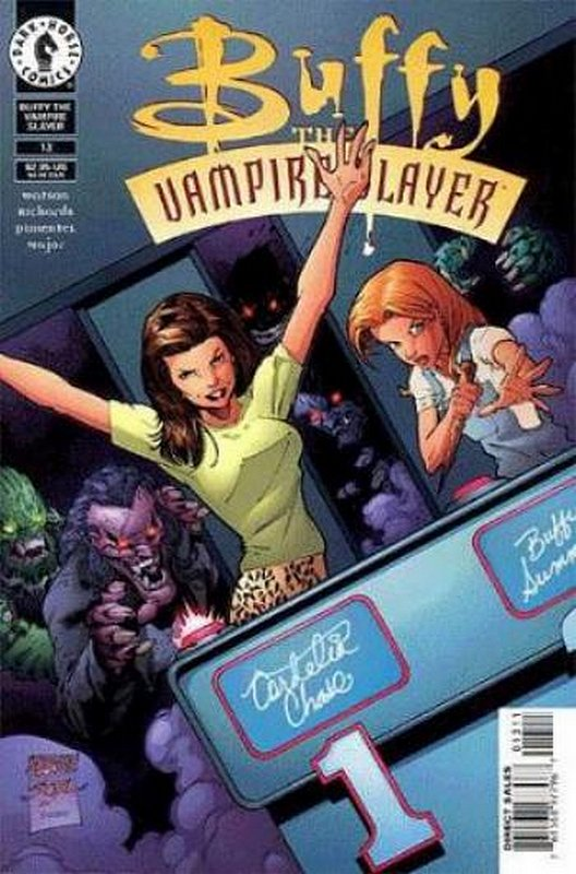 Cover of Buffy the Vampire Slayer (Vol 1) #13. One of 250,000 Vintage American Comics on sale from Krypton!