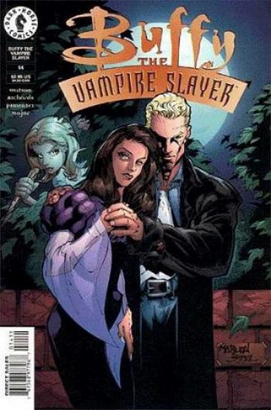 Cover of Buffy the Vampire Slayer (Vol 1) #14. One of 250,000 Vintage American Comics on sale from Krypton!