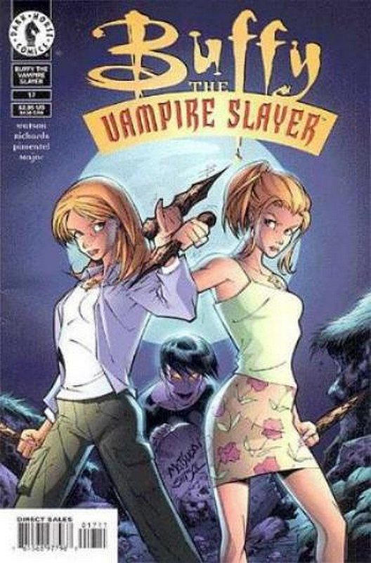 Cover of Buffy the Vampire Slayer (Vol 1) #17. One of 250,000 Vintage American Comics on sale from Krypton!
