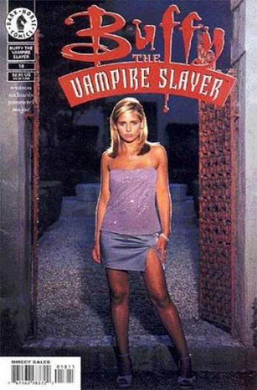 Cover of Buffy the Vampire Slayer (Vol 1) #18. One of 250,000 Vintage American Comics on sale from Krypton!