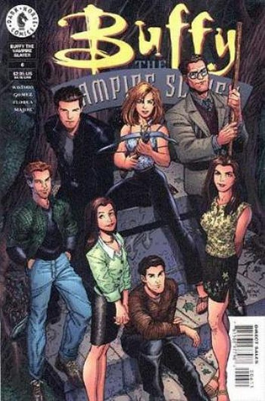 Cover of Buffy the Vampire Slayer (Vol 1) #6. One of 250,000 Vintage American Comics on sale from Krypton!