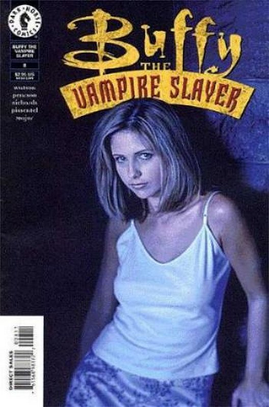 Cover of Buffy the Vampire Slayer (Vol 1) #8. One of 250,000 Vintage American Comics on sale from Krypton!