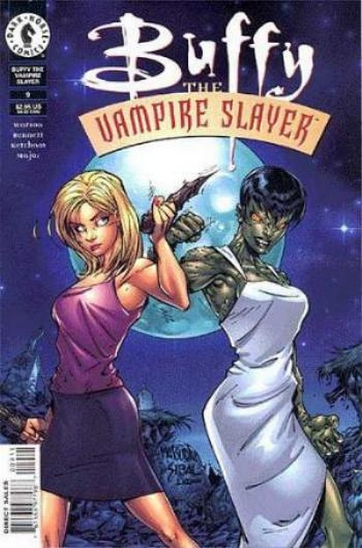 Cover of Buffy the Vampire Slayer (Vol 1) #9. One of 250,000 Vintage American Comics on sale from Krypton!