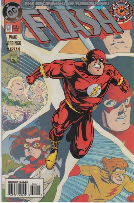 Cover of Flash (Vol 2) #0. One of 250,000 Vintage American Comics on sale from Krypton!