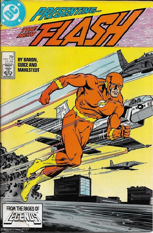 Cover of Flash (Vol 2) #1. One of 250,000 Vintage American Comics on sale from Krypton!