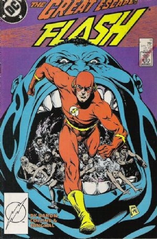 Cover of Flash (Vol 2) #11. One of 250,000 Vintage American Comics on sale from Krypton!
