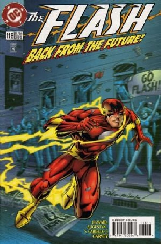 Cover of Flash (Vol 2) #118. One of 250,000 Vintage American Comics on sale from Krypton!