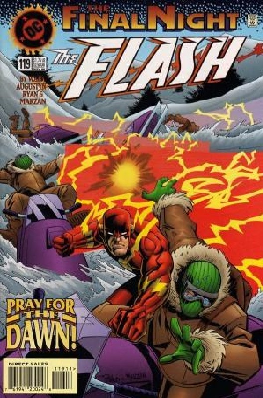Cover of Flash (Vol 2) #119. One of 250,000 Vintage American Comics on sale from Krypton!