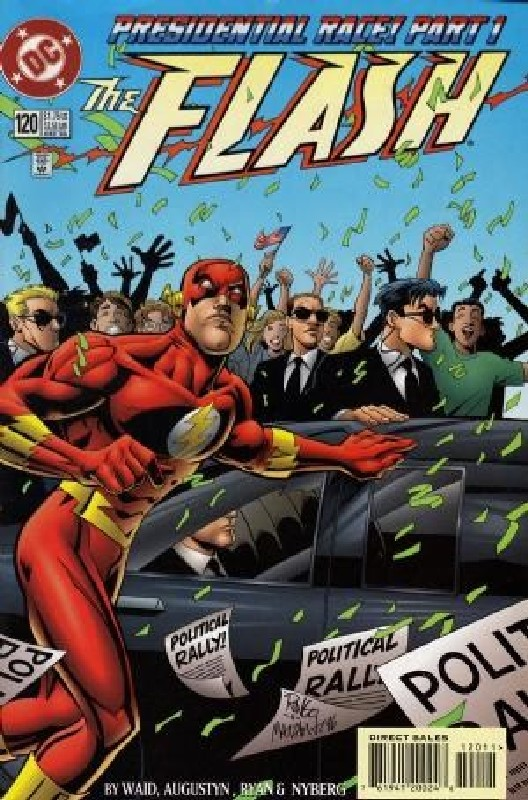 Cover of Flash (Vol 2) #120. One of 250,000 Vintage American Comics on sale from Krypton!