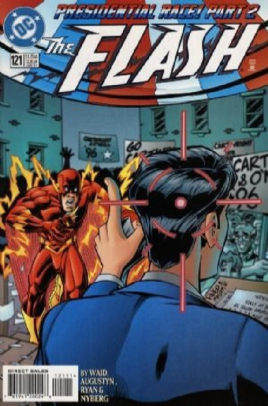 Cover of Flash (Vol 2) #121. One of 250,000 Vintage American Comics on sale from Krypton!