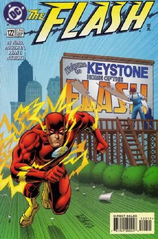 Cover of Flash (Vol 2) #122. One of 250,000 Vintage American Comics on sale from Krypton!