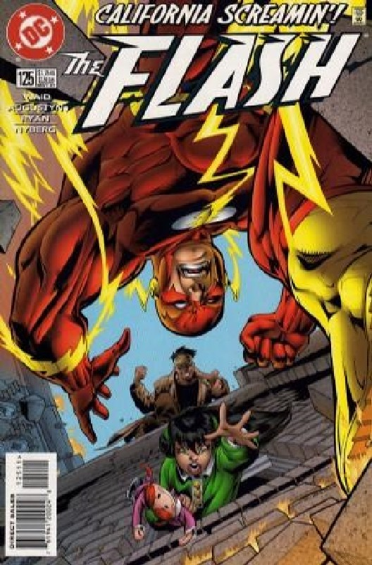 Cover of Flash (Vol 2) #125. One of 250,000 Vintage American Comics on sale from Krypton!