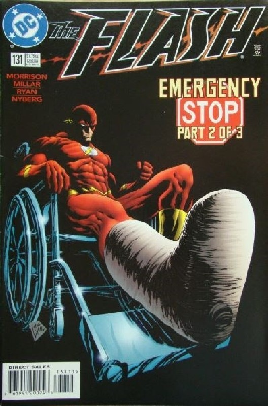 Cover of Flash (Vol 2) #131. One of 250,000 Vintage American Comics on sale from Krypton!