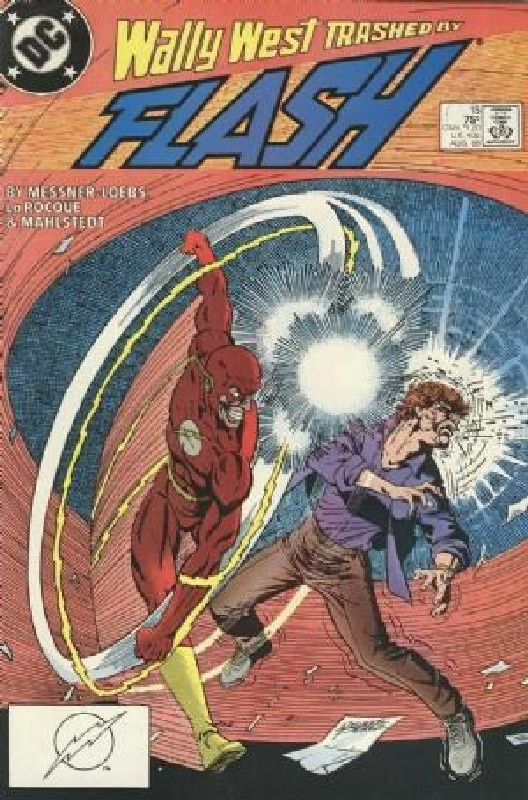 Cover of Flash (Vol 2) #15. One of 250,000 Vintage American Comics on sale from Krypton!