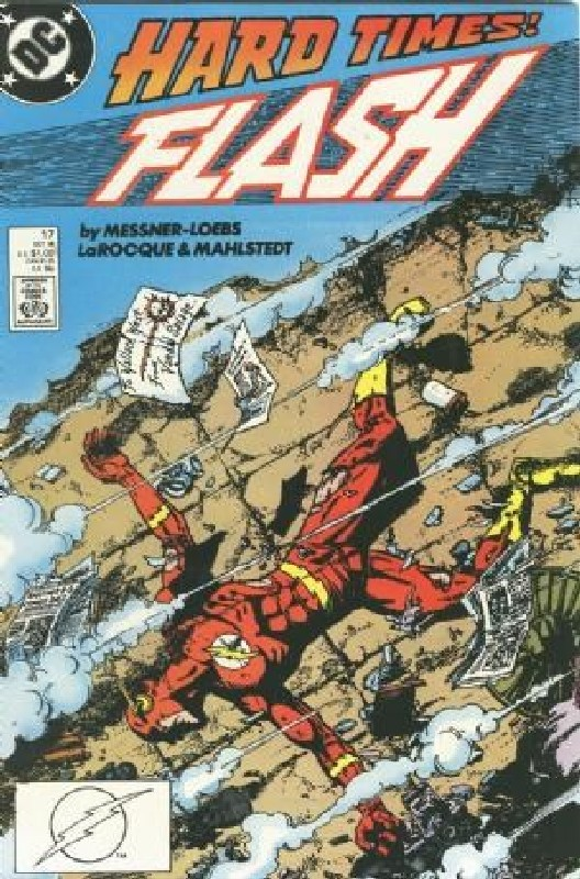 Cover of Flash (Vol 2) #17. One of 250,000 Vintage American Comics on sale from Krypton!