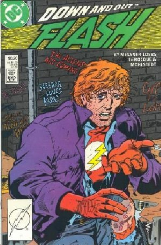 Cover of Flash (Vol 2) #20. One of 250,000 Vintage American Comics on sale from Krypton!
