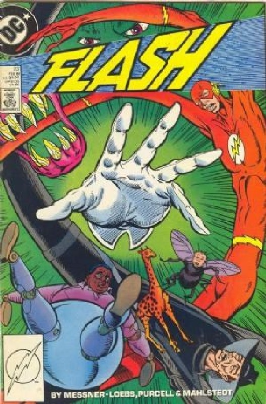 Cover of Flash (Vol 2) #23. One of 250,000 Vintage American Comics on sale from Krypton!