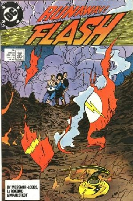 Cover of Flash (Vol 2) #25. One of 250,000 Vintage American Comics on sale from Krypton!
