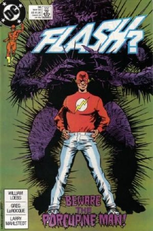 Cover of Flash (Vol 2) #26. One of 250,000 Vintage American Comics on sale from Krypton!