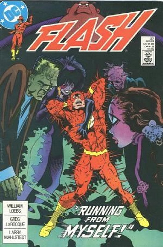 Cover of Flash (Vol 2) #27. One of 250,000 Vintage American Comics on sale from Krypton!