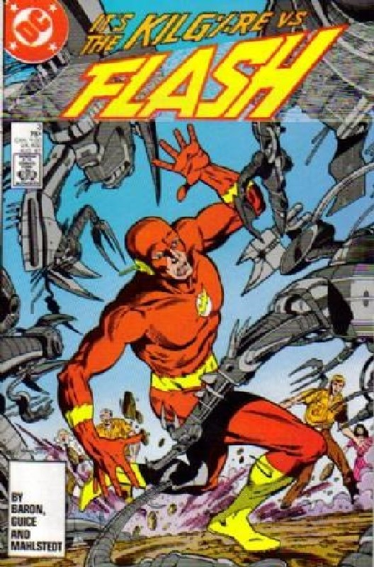 Cover of Flash (Vol 2) #3. One of 250,000 Vintage American Comics on sale from Krypton!