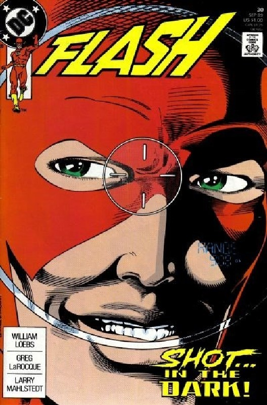 Cover of Flash (Vol 2) #30. One of 250,000 Vintage American Comics on sale from Krypton!