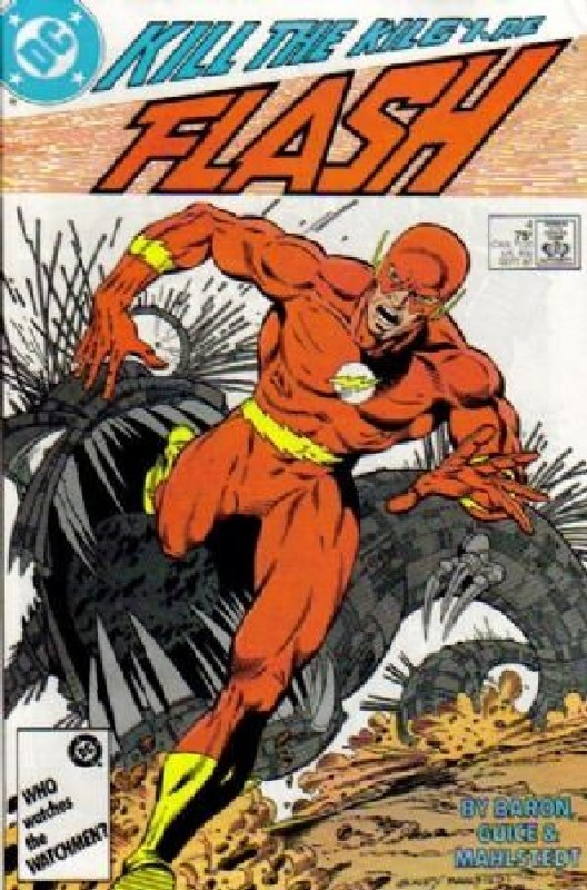 Cover of Flash (Vol 2) #4. One of 250,000 Vintage American Comics on sale from Krypton!