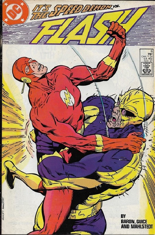 Cover of Flash (Vol 2) #6. One of 250,000 Vintage American Comics on sale from Krypton!