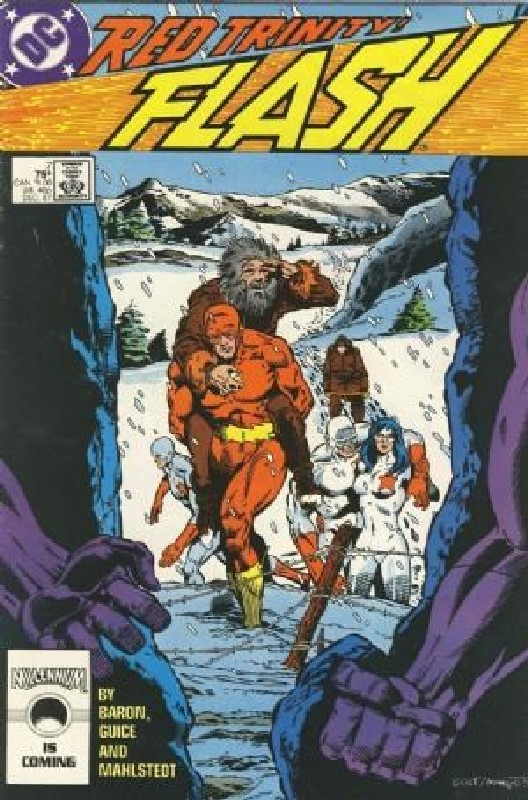 Cover of Flash (Vol 2) #7. One of 250,000 Vintage American Comics on sale from Krypton!