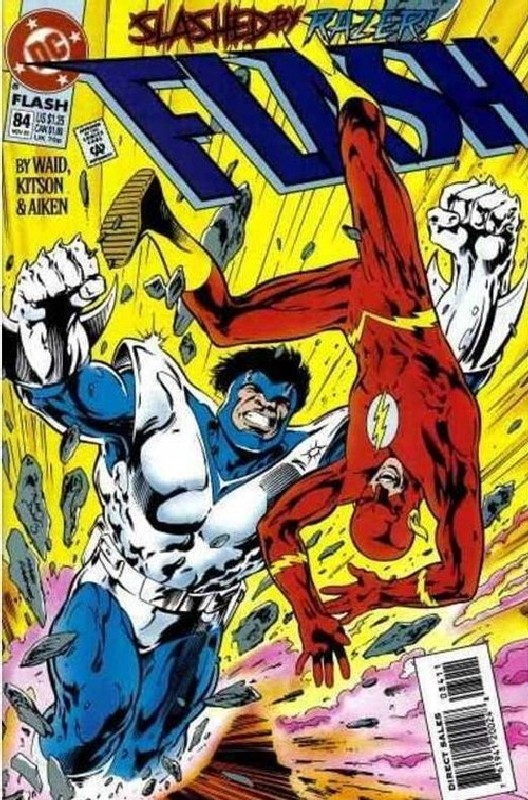 Cover of Flash (Vol 2) #84. One of 250,000 Vintage American Comics on sale from Krypton!