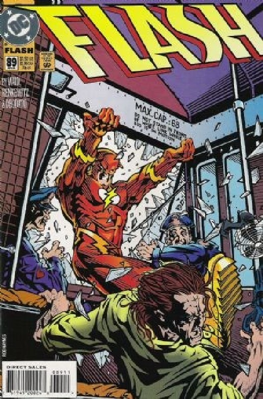 Cover of Flash (Vol 2) #89. One of 250,000 Vintage American Comics on sale from Krypton!