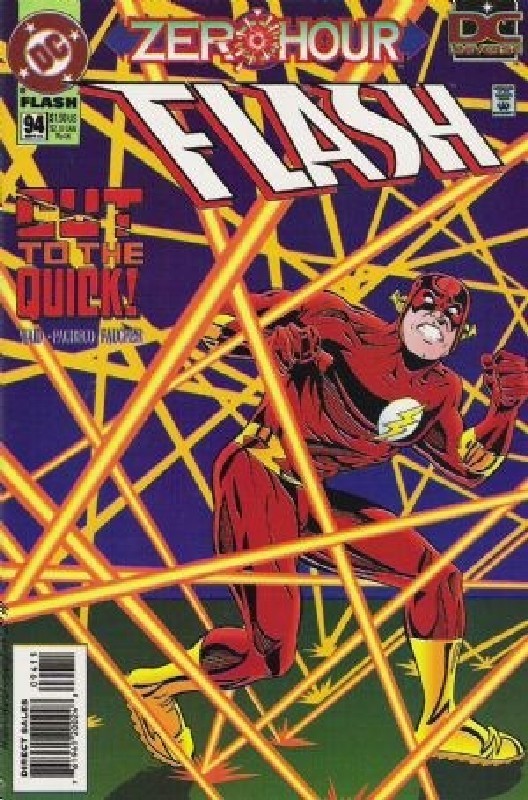 Cover of Flash (Vol 2) #94. One of 250,000 Vintage American Comics on sale from Krypton!