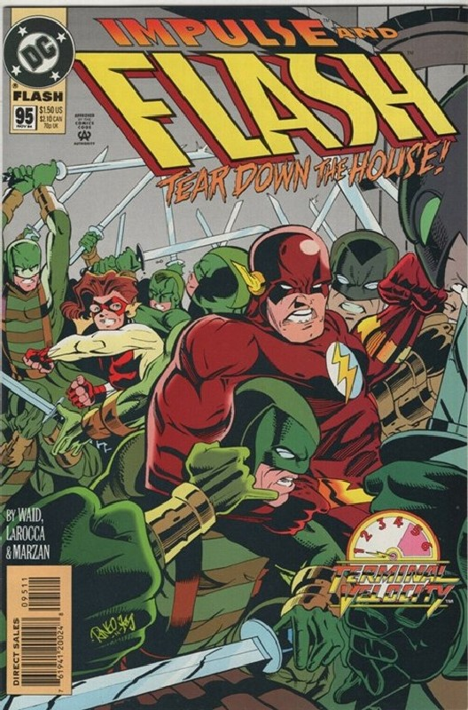 Cover of Flash (Vol 2) #95. One of 250,000 Vintage American Comics on sale from Krypton!