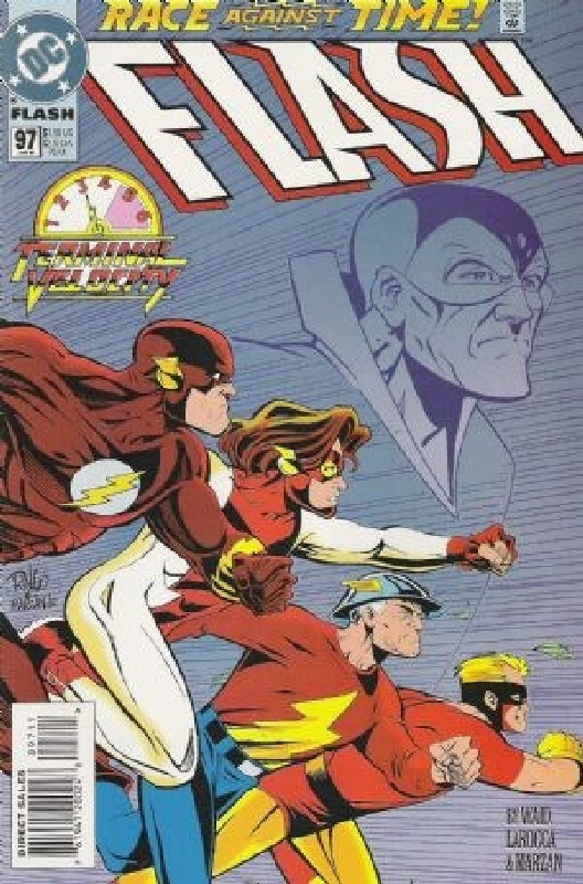 Cover of Flash (Vol 2) #97. One of 250,000 Vintage American Comics on sale from Krypton!
