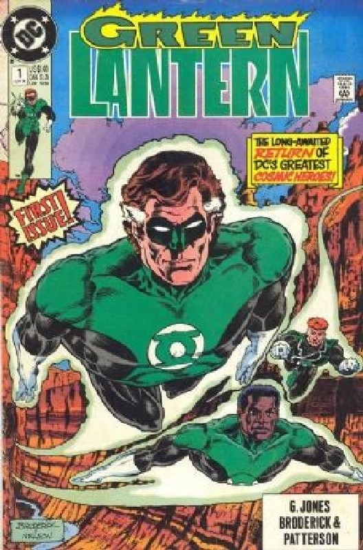 Cover of Green Lantern (Vol 3) #1. One of 250,000 Vintage American Comics on sale from Krypton!