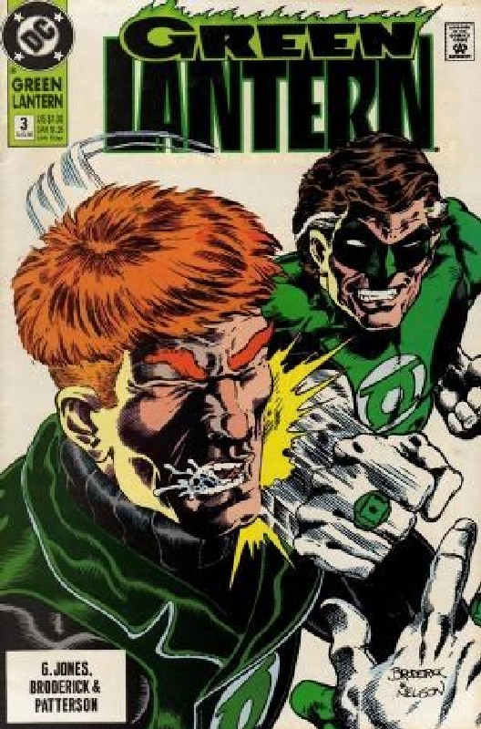 Cover of Green Lantern (Vol 3) #3. One of 250,000 Vintage American Comics on sale from Krypton!