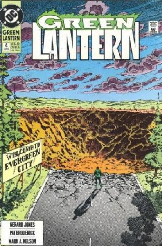 Cover of Green Lantern (Vol 3) #4. One of 250,000 Vintage American Comics on sale from Krypton!