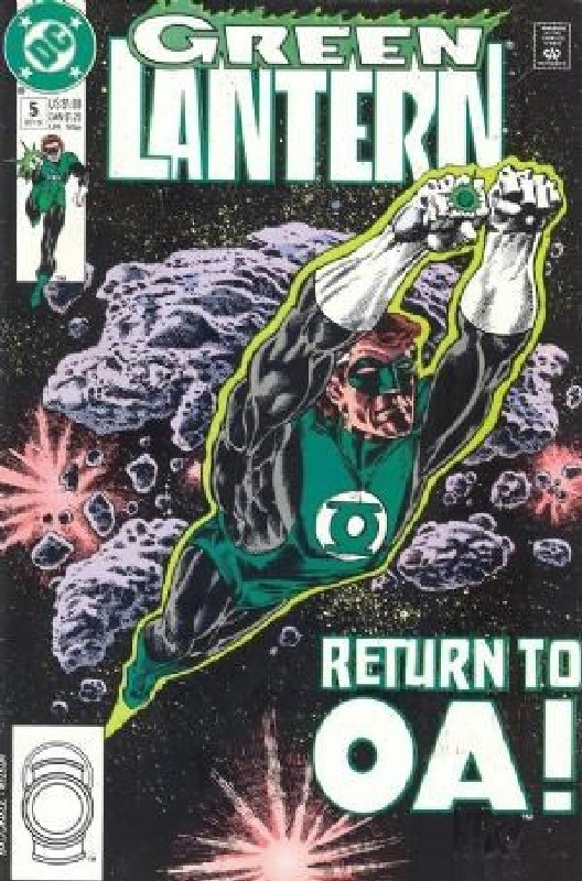 Cover of Green Lantern (Vol 3) #5. One of 250,000 Vintage American Comics on sale from Krypton!