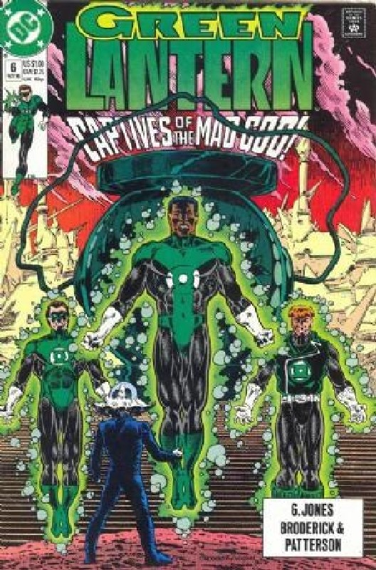 Cover of Green Lantern (Vol 3) #6. One of 250,000 Vintage American Comics on sale from Krypton!