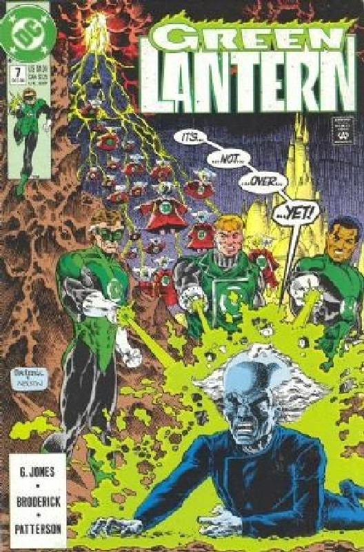 Cover of Green Lantern (Vol 3) #7. One of 250,000 Vintage American Comics on sale from Krypton!