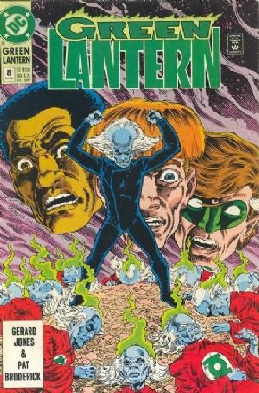 Cover of Green Lantern (Vol 3) #8. One of 250,000 Vintage American Comics on sale from Krypton!