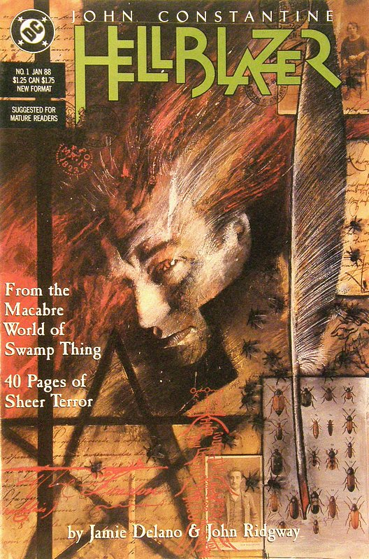 Cover of Hellblazer (Vol 1) #1. One of 250,000 Vintage American Comics on sale from Krypton!