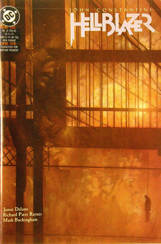 Cover of Hellblazer (Vol 1) #16. One of 250,000 Vintage American Comics on sale from Krypton!