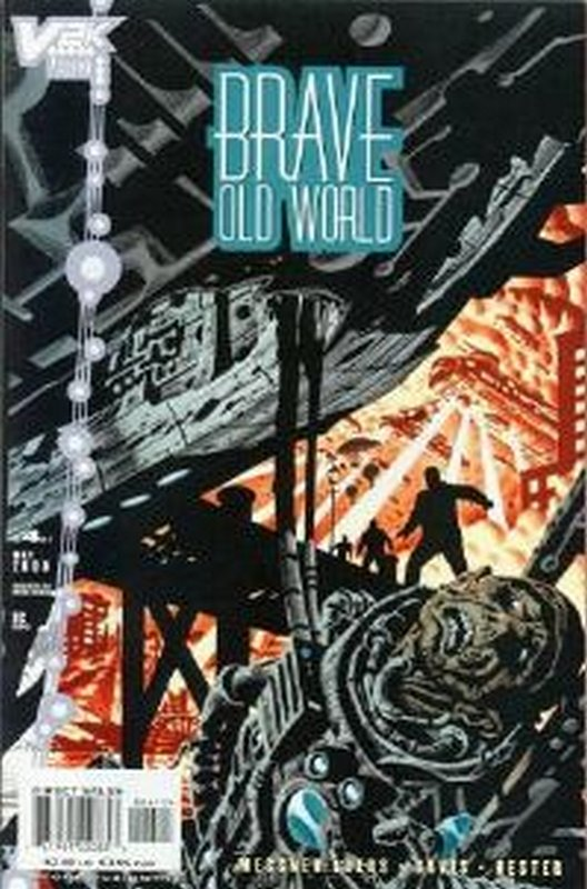Cover of Brave Old World (1999 Ltd) #4. One of 250,000 Vintage American Comics on sale from Krypton!