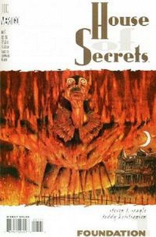 Cover of House of Secrets (Vol 2) #1. One of 250,000 Vintage American Comics on sale from Krypton!