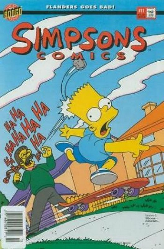 Cover of Simpsons Comics #11. One of 250,000 Vintage American Comics on sale from Krypton!